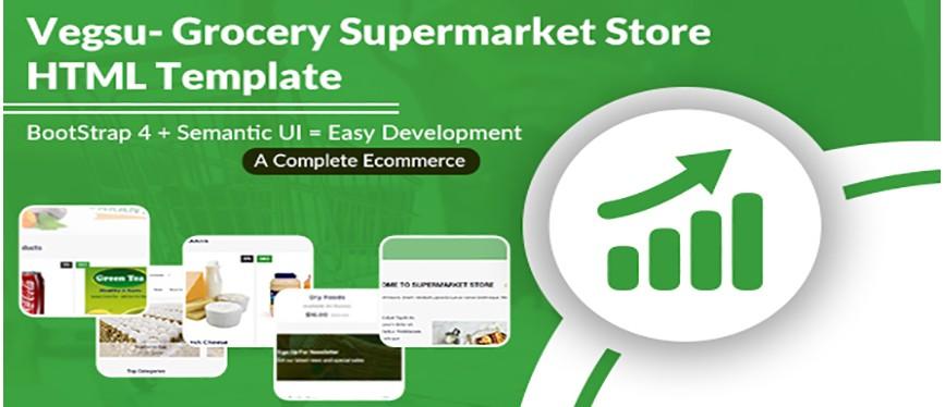 Vegsu - Grocery Supermarket Store HTML Templates