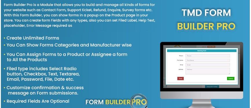 Prestashop Form Builder Pro Module