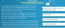 Prestashop Product Enquiry Module